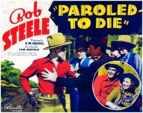 Paroled To Die (1938)