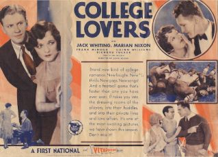 College Lovers (1930)