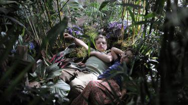 Linda Votrubová a Jakub Wunsch ve skleníku