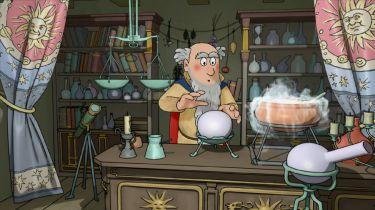 Sendivoj v laboratoři
