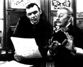 Josef Kemr a Vlasta Burian