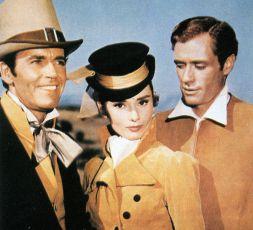 Henry Fonda Audrey Hepburn Mel Ferrer