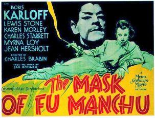 Maska Fu-Manchu (1932)