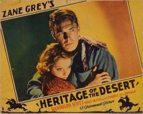 Heritage of the Desert (1932)