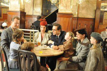 setkání Wintona s rodiči v hotelu Šroubek Evropa