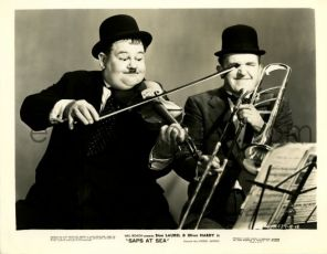 Laurel a Hardy na moři (1940)