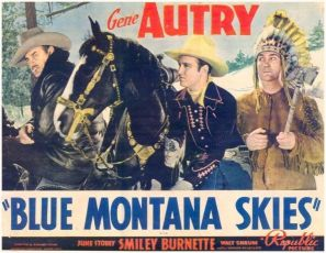 Blue Montana Skies (1939)