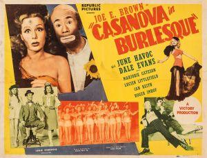 Casanova in Burlesque (1944)