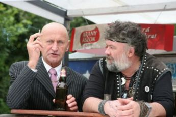 Gábor Reviczky a Imre Csuja