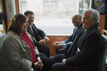 Michèle Bernier,  José Garcia a Jean-Paul Belmondo
