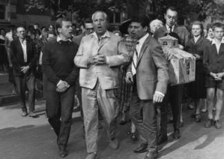 Gyula Bodrogi, Antal Páger, István Sztankay a Ervin Kibédi
