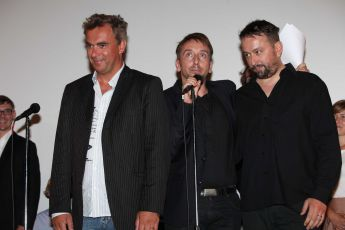 Tomáš Matonoha, Jakub Žáček,  Marek Daniel - Pražská premiéra Polskeho filmu 12.7.2012