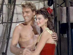 Burt Lancaster Eva Bartok