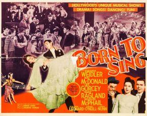 Born to Sing (1942)