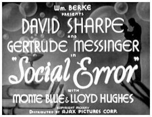 Social Error (1935)