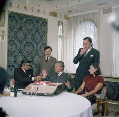 Oldřich Kaiser, Jiří Císler, Anton Januš, Jiří Lábus a Stanislava Bartošová