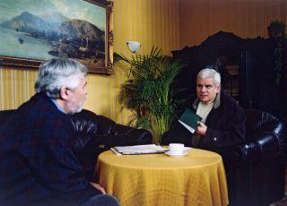 Josef Abrhám a Petr Štěpánek