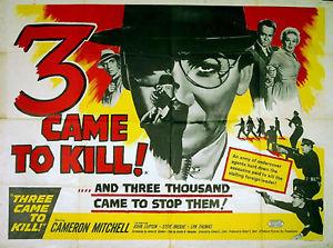 Three Came to Kill (1960)