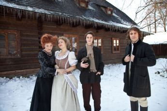 Veronika Žilková, Ivana Korolová, Jan Komínek a Roman Vojtek