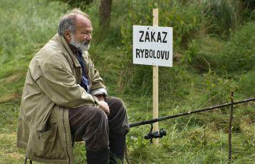 Povídka Rybníček z epizody Rybáři: Rudolf Hrušínský