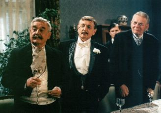 Josef Vinklář, Jiří Menzel, Jan Hrušínský a Jan Skopeček