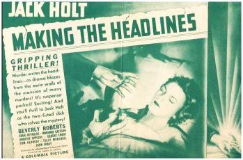 Making the Headlines (1938)