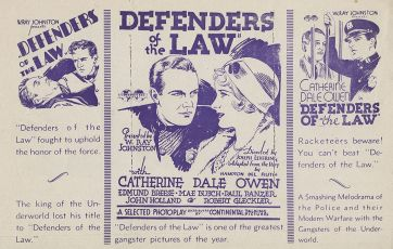 Defenders of the Law (1931)
