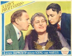 A Lady's Profession (1933)
