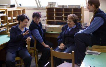 Eva Režnarová, Valerie Zawadská, Jiřina Bohdalová a Klára Jandová