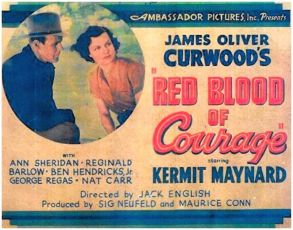 Red Blood of Courage (1935)