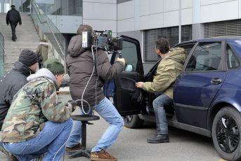 Z natáčení 1. dílu