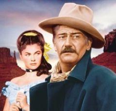 Joanne Dru John Wayne