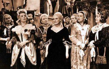 Helena Bušová, Jára Kohout, Meda Valentová, Jiřina Štěpničková, Marie Ježková, Dana Medřická a Milada Smolíková