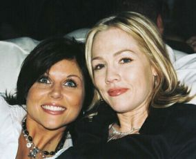 Tiffani Amber Thiessen + Jennie Garth