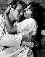 Paul Newman a Lita Milan