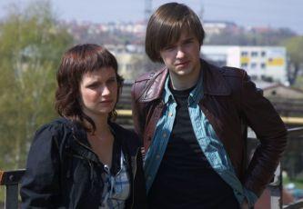 Kristina Nováková a  Michael Beran