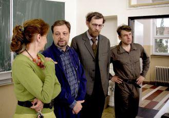 Eva Holubová, Milan Šteindler, Jiří Schmitzer a Tomáš Vorel