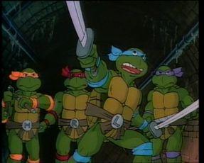 Želvy Ninja (1987) [TV seriál]