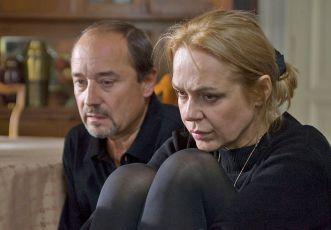 Viktor Preiss a Dagmar Veškrnová