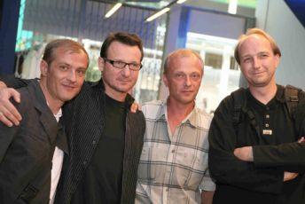 Roman Luknár, Robert Wieczkievicz, Attila Mokos a Jan Vondracek