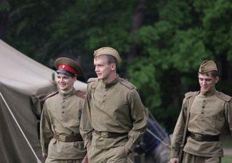 zleva Vjaceslav Burlac, Alexej Bardukov a Sergej Gherciu
