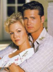 Jennie Garth + Jason Priestley