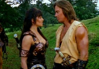 Lucy Lawless + Kevin Sorbo