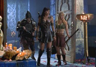 Ted Raimi + Renee O'Connor + Lucy Lawless