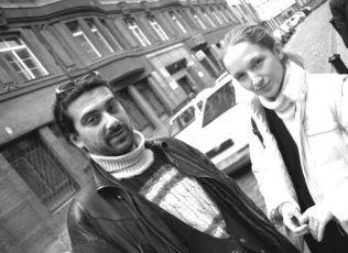 režisér Marcel Bystroň a producentka Olga Dabrowská