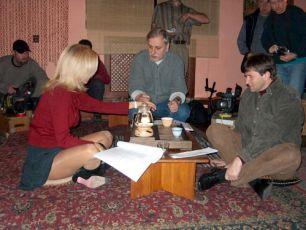 Kateřina Brožová, Zdeněk Zelenka a Jan Hrušínský