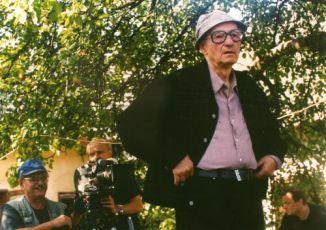 Karel Kachyňa při natáčení