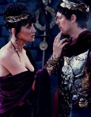 Lucy Lawless + Karl Urban