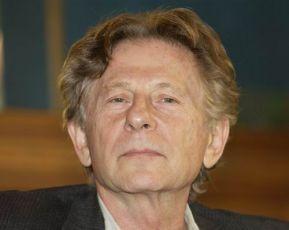 Roman Polanski na tiskové konferenci při světové premiéře v Praze