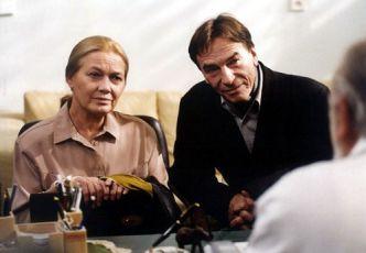 Jana Preissová (třídní profesorka Svobodová) a František Němec v roli jejího přítele